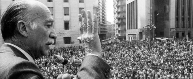 Giorgio Almirante, trent'anni dopo quei tizzoni ardono ancora