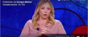 """Meloni: """"Noi al governo? Da Salvini solo un auspicio ma nessun gesto"""" (video)"""
