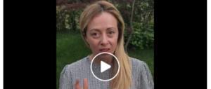 """La Meloni sbugiarda Di Maio: """"Gli ho detto che mai sosterrò un premier grillino"""" (video)"""