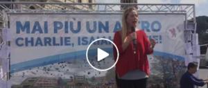 """Meloni: """"Fratelli d'Italia non rinuncia ai suoi valori in cambio di poltrone"""" (video)"""