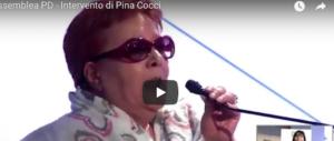 """La """"compagna Pina"""" asfalta i dirigenti Pd: «In periferia chi v'ha mai visto?» (video)"""