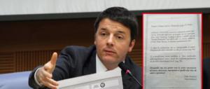 Annuncio a pagamento contro il governo M5S-Lega. Poi si scopre che è di un fan di Renzi