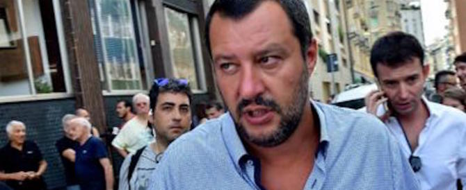 Migranti, Salvini sfida l'Europa: «L'Italia comincia a dire no»