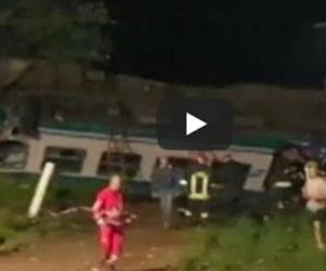 Torino, inferno di lamiere: indagato l'autista lituano del tir (video)