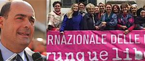 In soccorso rosso alle femministe: ecco la mossa astuta di Zingaretti