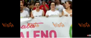"""Che tristezza quella partigiana 93enne che guida le """"Brigate Arcobaleno"""" (video)"""