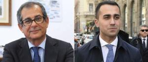 Tiro mancino a Di Maio: il ministro Tria blocca subito il reddito di cittadinanza