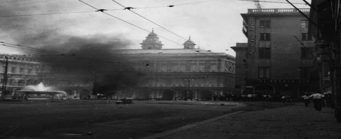 Corteo per celebrare la rivolta antifascista del 1960. Ecco chi sono i veri nostalgici (video)