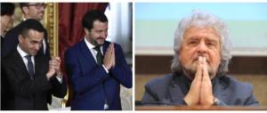 Grillo ai «gufi della sinistra frou frou: M5S-Lega, diversi ma compatibili»