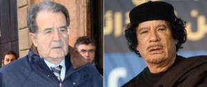 Prodi ammette: «Era meglio Gheddafi, con lui i barconi non c'erano»