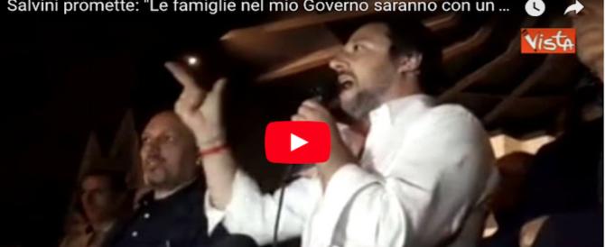 """Salvini """"massacra"""" Soros e infiamma il Senato: sostegno da La Russa e Gasparri"""