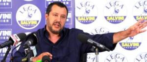 Salvini: «L'Italia ha smesso di chinare il capo, non sarà ridotta a campo profughi»