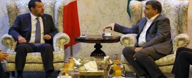 Libia, Salvini non indietreggia sugli hotspot: «Niente centri in Italia»