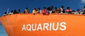 L'Italia sveglia l'Europa: i clandestini della Aquarius non verranno da noi