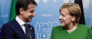 Conte pronto a chiedere alla Merkel fondi Ue per il reddito di cittadinanza