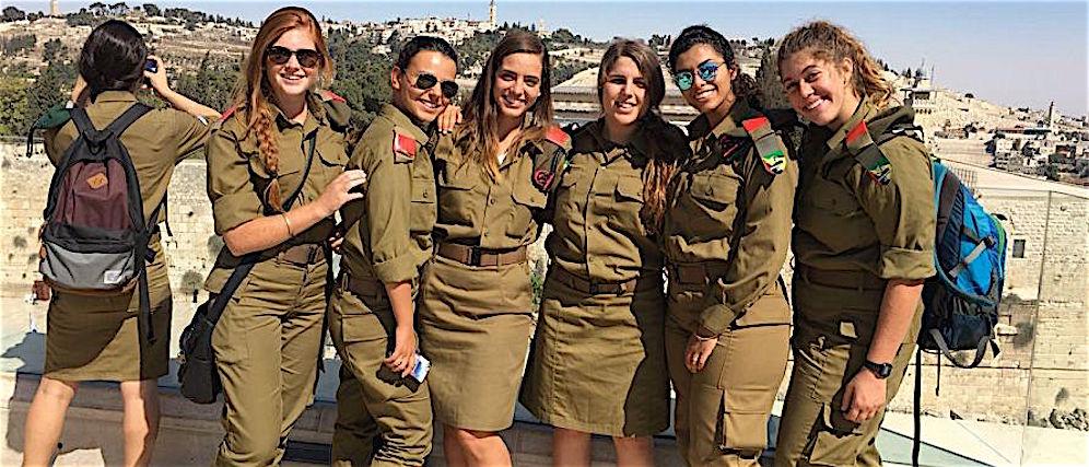 donne esercito israele