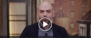 Incredibile Saviano, riesce a parlare di sé anche in un video per un bimbo malato (VIDEO)