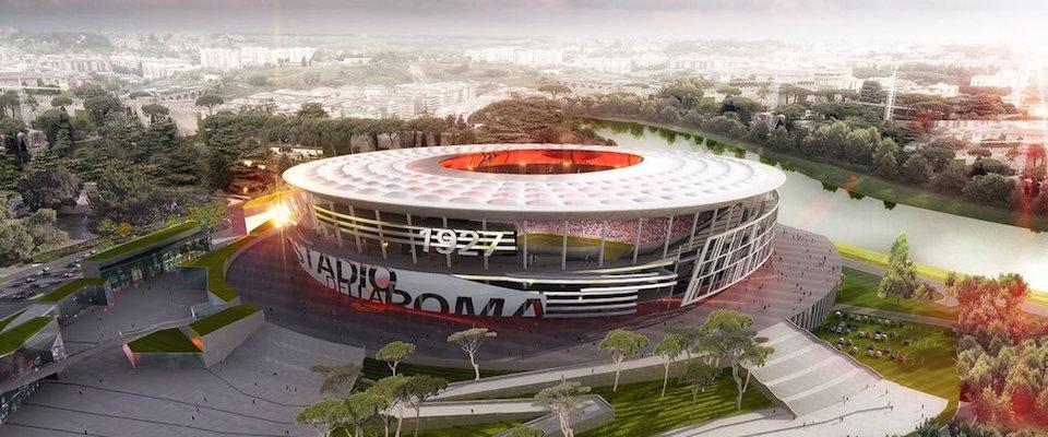 L'area del nuovo stadio della Roma dove l'avvocato Mezzacapo e Parnasi puntavano a far spostare la sede dell'Acea