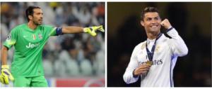 Così è il calcio: lo strano incrocio tra Cristiano Ronaldo e Gigi Buffon
