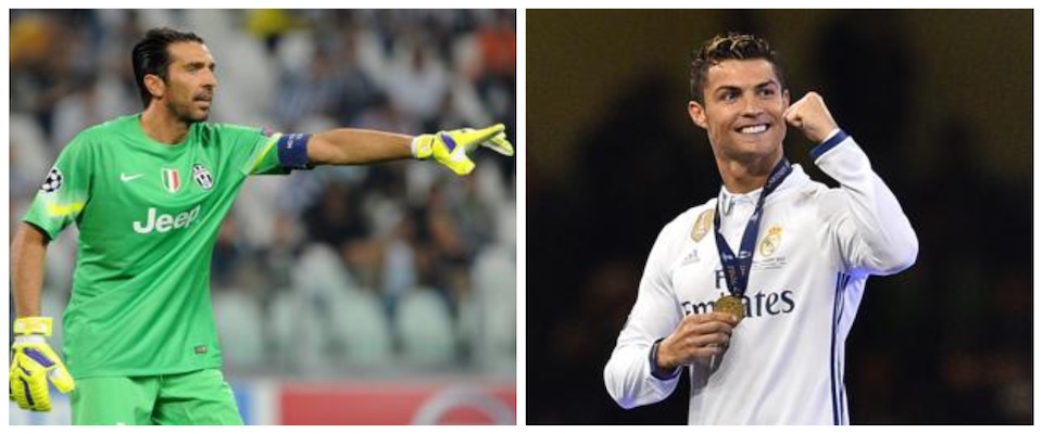 Così è il calcio. Che ora ci racconta la favola di Cristiano Ronaldo e di  Gianluigi Buffon. Uno che viene e l altro che va. Entrambi attratti dallo  stesso ... 8824ffa9a7c7