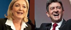 """Macron trema: si forma l'asse """"rosso-nero"""" tra Le Pen e Melenchon"""