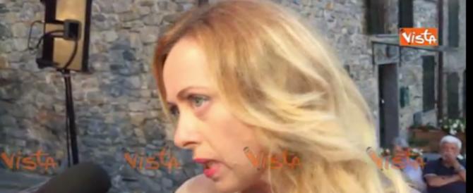 Meloni: «Boeri e Mattarella sempre zitti con Renzi e Gentiloni. Ora invece…» (video)
