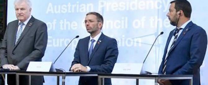 Salvini, patto con Germania e Austria sui migranti: «In Europa solo chi fugge da guerre»