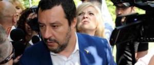 Salvini, l'altolà al M5S: «La Tav va avanti e non si torna indietro»