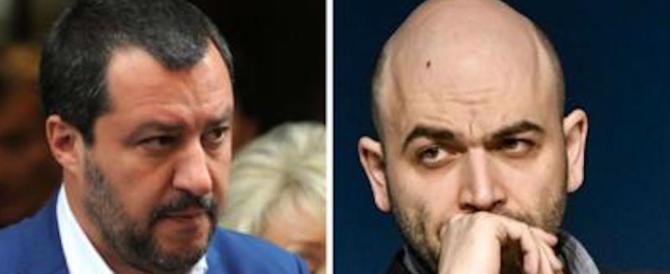 Scontro finale, Salvini querela Saviano. Cosa ha il coraggio di replicare lo scrittore