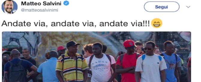 """""""Andate via, andate via…"""". Così Salvini commenta la sentenza anti-razzismo della Cassazione"""