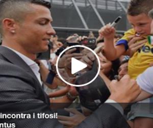 I tifosi al campione: «Portaci la Chiampions». Cresce la febbre da Ronaldo (VIDEO)