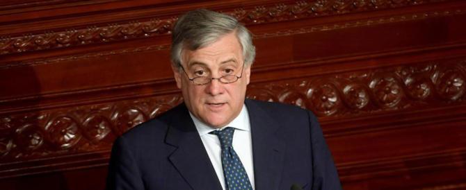 """Tajani: """"Sono figlio di militare. Se la Patria chiama, sono a disposizione"""""""