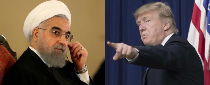 Rohani minaccia gli Usa. E Trump gli risponde: «Stai attento»