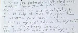 Venezia, il derubato al ladro: «sto morendo di cancro, era il mio ultimo viaggio»