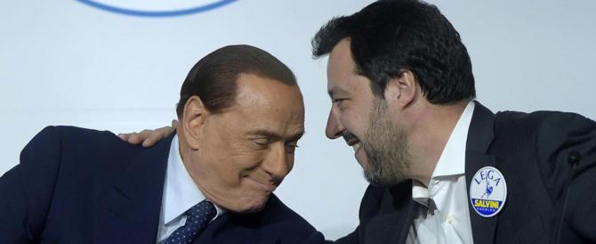 Salvini smentisce le tensioni tra Lega e FI: «Con Berlusconi siamo in linea»
