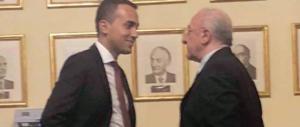 De Luca-Di Maio, la foto dell'incontro diventa virale. E fioccano critiche