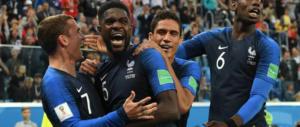 Finale dei Mondiali: domata la Croazia, vincono la Francia (e la Russia di Putin)