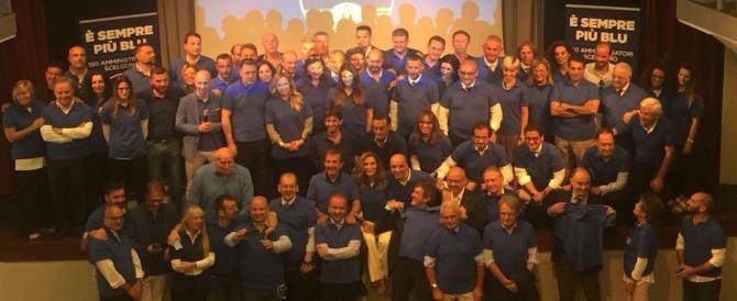 Oltre 220, tra assessori e sindaci, scelgono Fratelli d'Italia. Meloni: «La nostra serietà vince»
