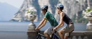 """Sul Garda la pista ciclabile più bella del mondo. L'assessore Magoni: """"Un orgoglio per l'Italia e per Lombardia"""" (video)"""