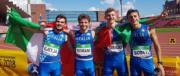 Staffetta italiana under 20 vince il mondiale. Ma la sinistra non festeggia…