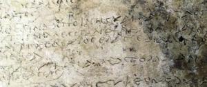 Grecia, scoperta una tavoletta con la più antica trascrizione dell'Odissea