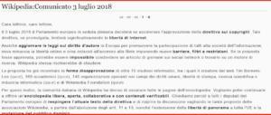 Il Parlamento Ue blocca la riforma del copyright: Wikipedia ha vinto (per ora)