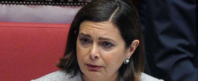 """La denuncia: """"Alla Boldrini il mio posto in aereo, con la scusa del disabile"""""""