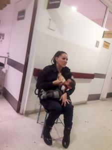 Celeste Ayala, la poliziotta argentina divenuta famosa nel mondo