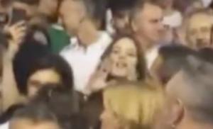 La giovane al comizio della Lega urla contro Salvini