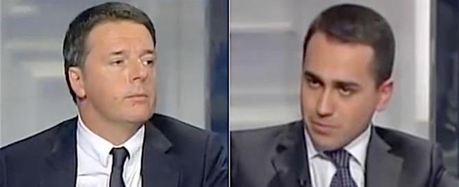 """Lite furiosa Di Maio-Renzi: """"Pd pagato da Benetton"""", """"Bugiardo, sciacallo"""""""