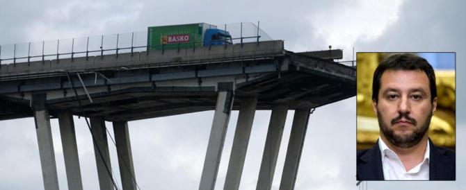 Ponte Morandi, Salvini: oltre 30 morti, ora mettiamo in sicurezza l'Italia