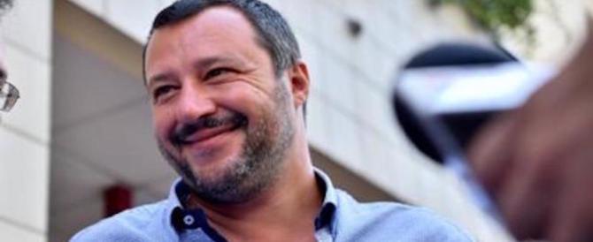 Migranti, Salvini: «Orgogliosi di aver ridotto gli sbarchi al minimo storico»