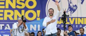 Salvini a Saviano: «La mafia non si combatte coi film». E al Pd: «Cerbiatti»