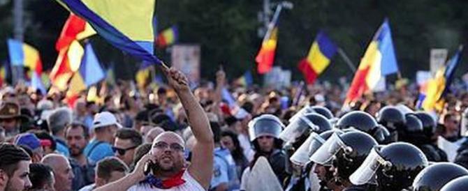 E Bucarest dice no alla corruzione. Migliaia di romeni scendono in piazza (video)